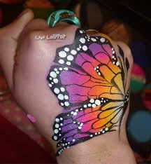 butterfly arm design by the great livi lollipop uk