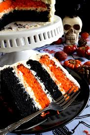 Halloween Chocolate Cakes by Halloween Pumpkin Cake With Cream Cheese Frosting Lord Byron U0027s
