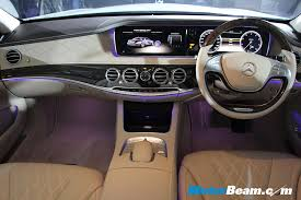 2014 mercedes s class interior mercedes launches 2014 s class in india