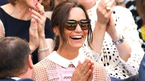 Middleton Pippa Pippa Middleton Wimbledon Dress We Are Loving Her Lacy Look