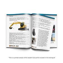 Forklift Operator Certification Card Template Excavator Training Kit Program Osha Compliant