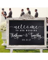 wedding plaques personalized amazing deal on wedding welcome sign customized personalized v1