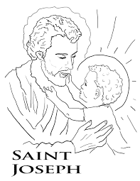 saint coloring pages at saints to print omeletta me