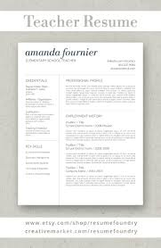 resume templates that stand out resume template by resume foundry our professionally