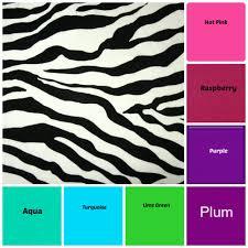 checkbook cover zebra print fabric glowgirl fibers