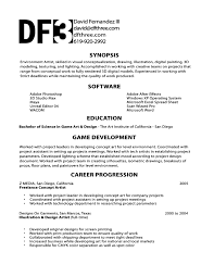 Cover Letter For Testing Resume Video Game Resume Free Resume Example And Writing Download