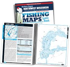 Hayward Wisconsin Map by Northwest Wisconsin Fishing Map Guide Northern Region