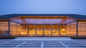 organic shape inhabitat green design innovation architecture
