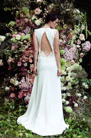 designer wedding dresses 10 go to designers for backless wedding dresses