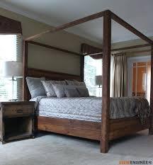 Black King Canopy Bed King Canopy Bed Frame Podemosmataro Info