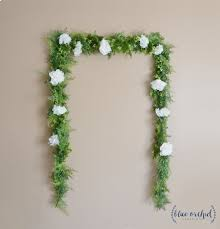 wedding backdrop greenery wedding garland wedding backdrop flower garland greenery