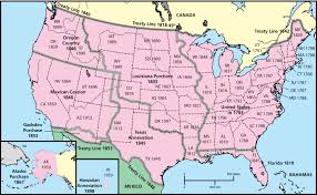 Pictures Of Maps The Choices Program U S Westward Expansion Through Maps The