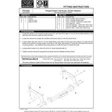 nissan qashqai towing capacity pct automotive nn4346b u2013 2007 14 nissan qashqai u2013 trident towing kent