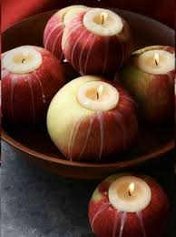 Apple Centerpiece Ideas by White Tray With Green Apples What A Good Idea To Have Some