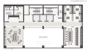 Lounge Floor Plan Thesis A Boutique Hotel By Shelley Quinn At Coroflot Com