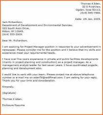 advertising manager cover letter cover letter it director by