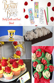 disney u0027s beauty and the beast party crafts u0026 food ideas must