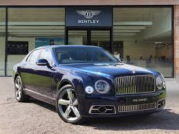 bentley mulsanne 2014 used bentley mulsanne cars for sale motors co uk