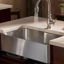 stainless steel apron sink k3086 na verity apron front specialty sink kitchen sink