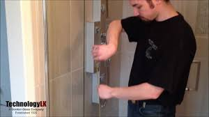 Sealing A Shower Door How To Install Vertical Shower Door Seal