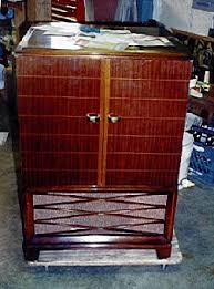 rca victor tv cabinet value rca model 21t227 console television 1952