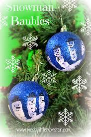handmade christmas tree decorations messy little monster