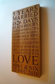 5 year wedding anniversary gift ideas 5th wedding anniversary gift ideas for husband uk finding