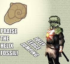 Wat Twitch Plays Pokemon Know Your Meme - praise the helix fossil twitch plays pokemon know your meme