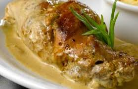 cuisiner le lapin à la moutarde lapin à la moutarde recette aftouch cuisine