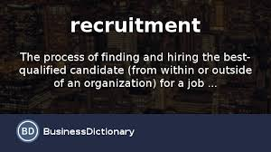 Suitable Meaning by What Is Recruitment Definition And Meaning Businessdictionary Com