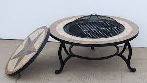 Bbq Tables Outdoor Furniture by Saltillo Beautiful Garden Bbq Fire Pit Mosaic Table Fire Bowl