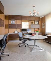 Mid Century Style Home by Mid Century Basement Modern Basement Home Office With Mid
