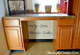 desk in kitchen design ideas kitchen desk storage area chaotically creative
