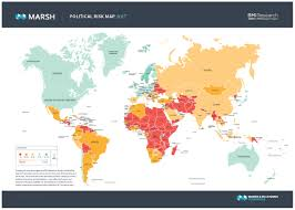 China Political Map by 2017 Political Risk Map Chemanager Online Com Chemistry And