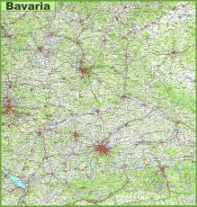 Schweinfurt Germany Map by Large Bavaria Maps For Free Download And Print High Resolution
