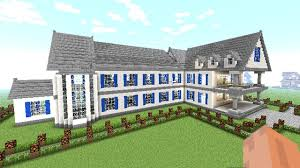 mansion blue prints minecraft how to make a big house complete guide of minecraft