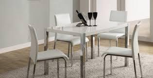 dining nice white gloss dining table and chairs high 4 se sydney