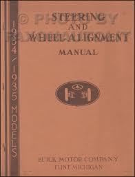1934 1935 buick special series 40 repair shop manual original