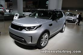 2017 land rover discovery at the iaa 2017 live