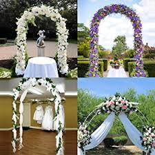 Wedding Arches Ebay White Metal Garden Arch Wedding Bridal Prom Party Flower Decor
