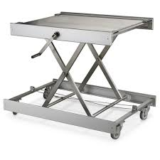 Folding Table Adjustable Height Furniture Stainless Steel Cooking Table For Kitchen New Swedish