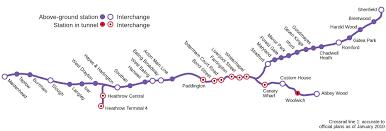 Boston Commuter Rail Map by Map Of London Commuter Rail Stations U0026 Lines