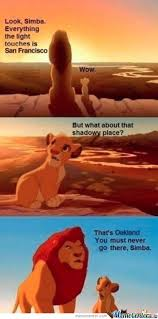 San Francisco Meme - look simba everything the light touches is san francisco by