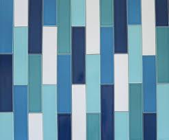 French Blue And White Ceramic Tile Backsplash Subway Tile Backsplash Modern White Cabinets With Stainless