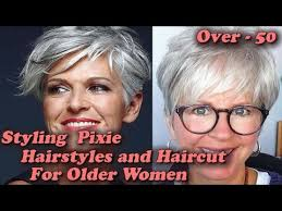 2018 styling pixie hairstyles and haircut for older women over
