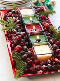 christmas decor for center table 50 easy christmas centerpiece ideas midwest living