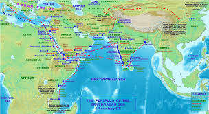 Red Sea World Map by Periplus Of The Erythraean Sea Google Search Phenotypical