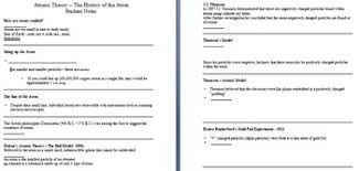 theory and model lesson history of the atom powerpoint lesson