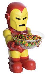 iron man halloween candy bowl holder costume craze