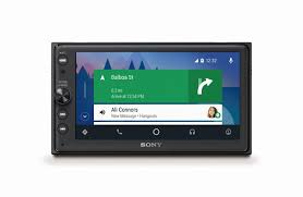 lexus is aftermarket navigation head unit sony announces 500 android auto head unit its first says it u0027s